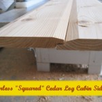 Cedar Squared Log cabin siding