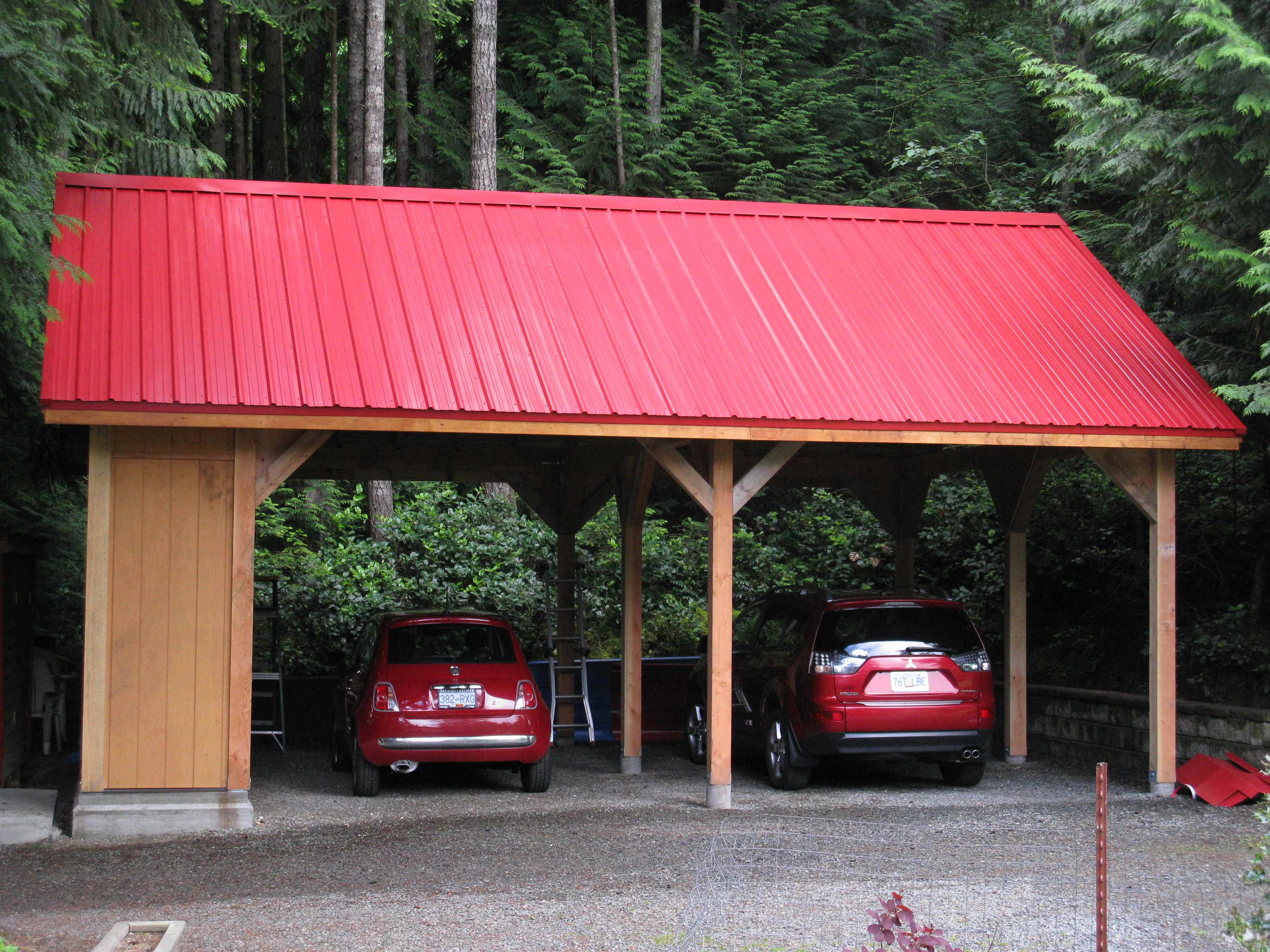 Garden Sheds Vancouver Island custom small post and beam structures | peerless forest products