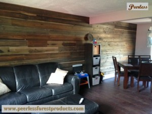 Peerless Barn Board as Feature Wall