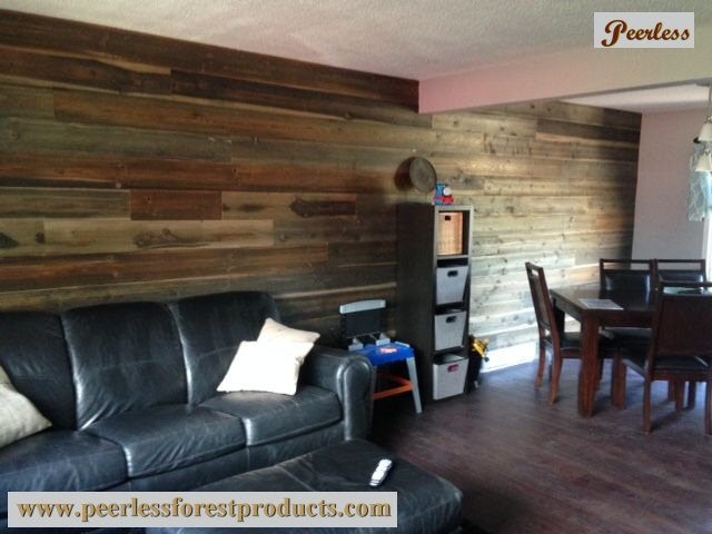 Peerless Barn Board as Feature Wall