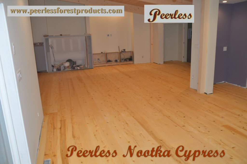 Peerless Forest Products Yellow Cedar Wide Plank Flooring