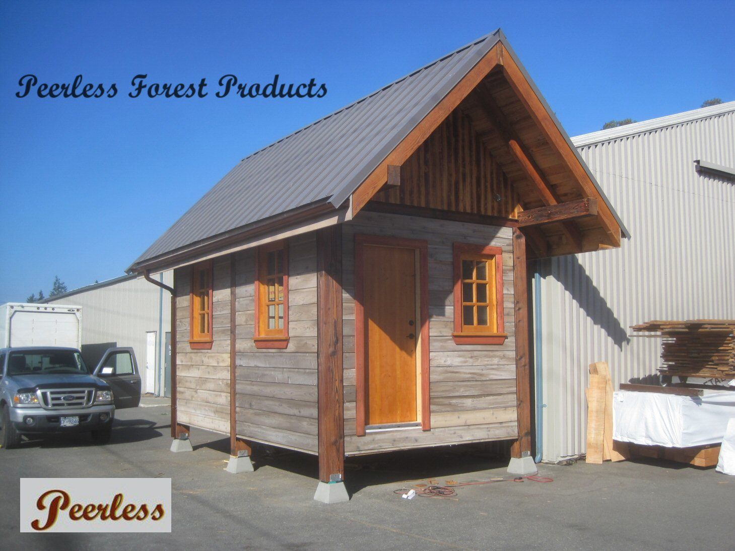 Peerless Off Grid Cabin 10x16 Structure 21, Victoria, BC