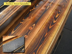 Shou sugi Combo Exterior and Interior Peerless Forest Products, Duncan BC