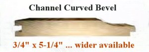 Channel Curved Bevel